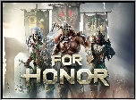 For Honor, Gra, Rycerz, Wiking, Samuraj, Proporce